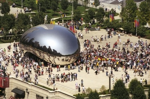 Anish Kappor – 'Cloud Gate' (2004-2006),10 others artworks you need to know