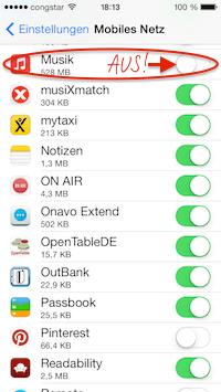 Mobiles Netz > Musik