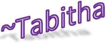 Tabitha's signature
