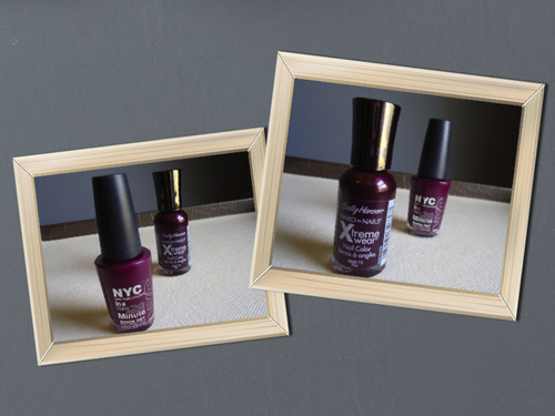 Sally Hansen Extreme Wear 12 Flirt and NYC In a New York Minute Quick Dry Nail Polish 248 Manhattan