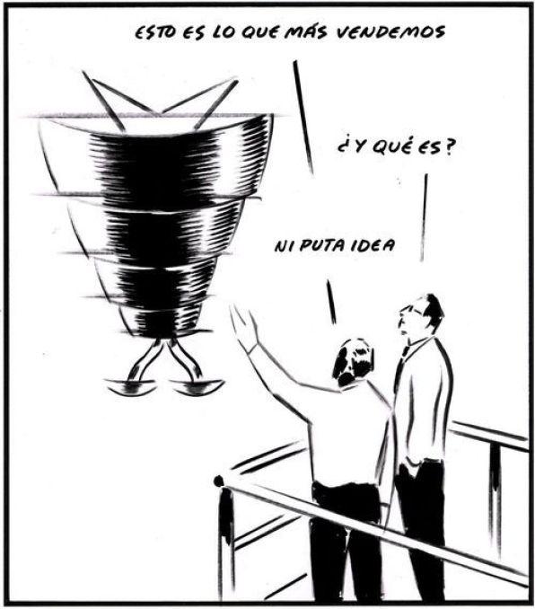 El Roto, en El País.