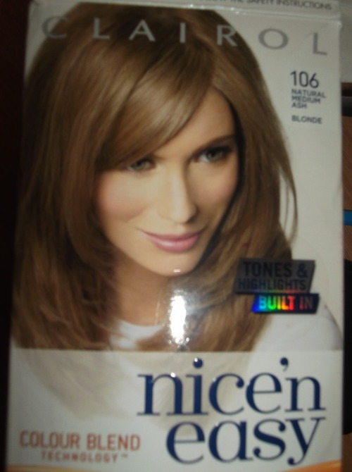 Hair Dye Reviews Review Nice N Easy 106 Natural Medium