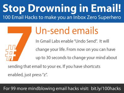 Un-send emails! Best Gmail feature ever! – SaneBox Blog