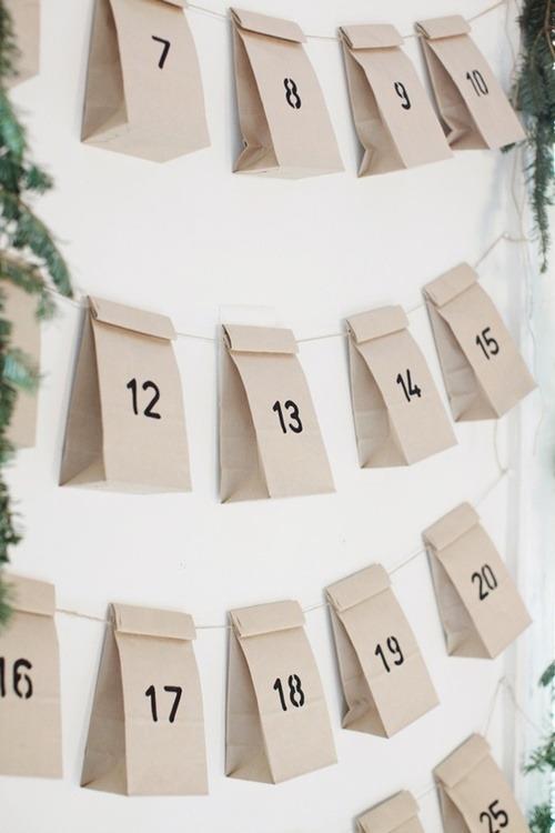DIY adventskalender adventskalenders