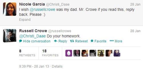 Crowe Tweets