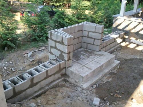 Building an Outdoor Stone Fireplace - qx(tech, UI, power ... on Building Outdoor Fireplace With Cinder Block id=18360