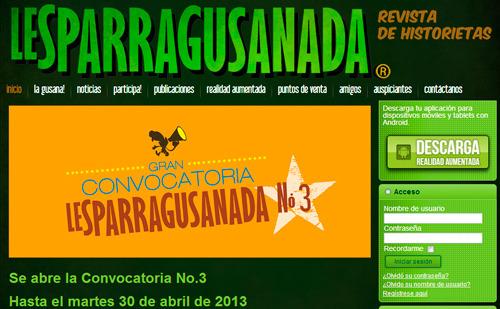 La revista Lesparragusanada busca autores a través de la web