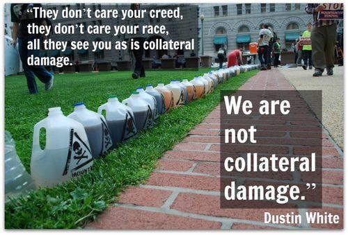 We are not collatoral damage by Greta Neubauer Greenmeme Team