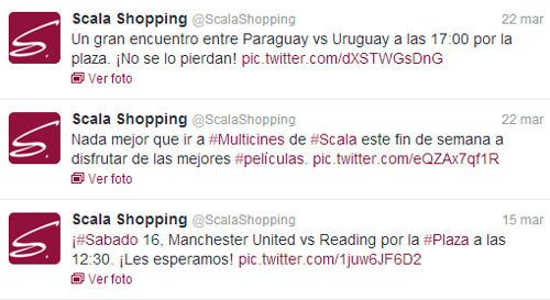 Twitter de Scala Shopping