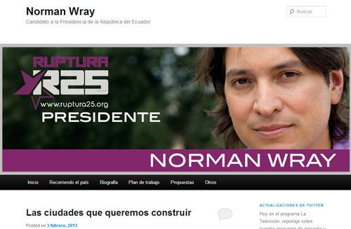 Norman Wray en WordPress.com