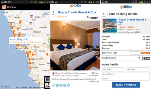 Goibibo IOS app