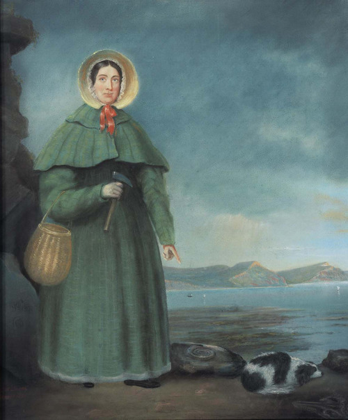 Mary Anning, from wikimedia commons via trowelblazers tumblr.