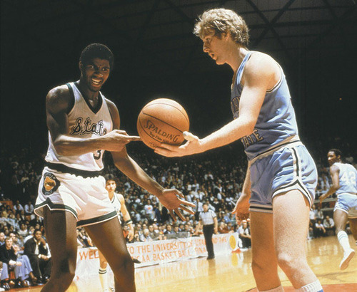 hot sale online 30976 1d301 24, 1979 – Larry Bird scored 35 points, 16 rebounds, and 9 assists as  Indiana State advances to the NCAA finals. Magic Johnson of Michigan State  recorded a ...