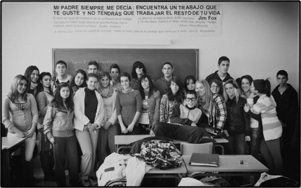 Mis alumnos de 4º de ESO.