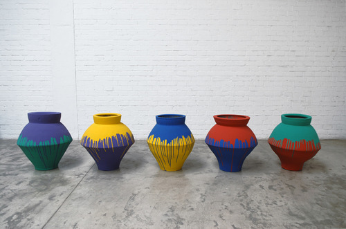 Ai Weiwei – 'Coloured Vases' (2007-2010), 10 others artworks you need to know