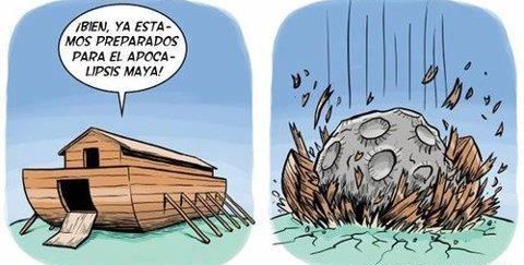 Caricatura del Fin del Mundo