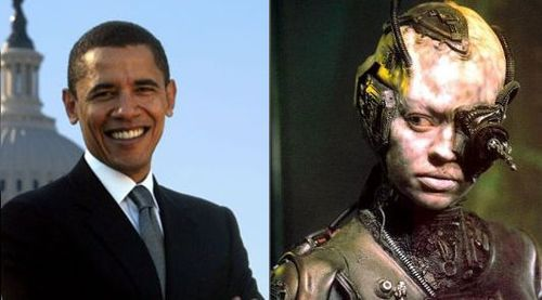 "Obama and ""Seven of Nine"""