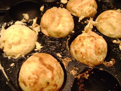 Yaki Custard Cream Puff Balls