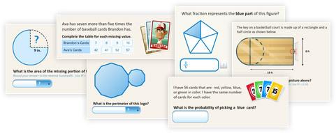 Multiple screenshots of new documents illustrations