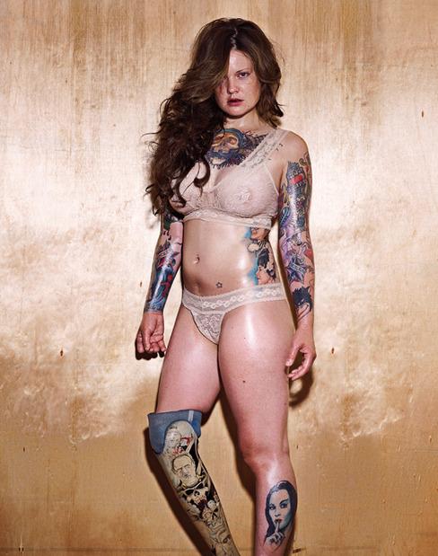 Tagged: hell's angels, booklet, magazine, tattoo, tattoos, beautiful women,
