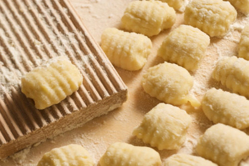 Gnocchi! (Not the same photo I saw, but yummy nevertheless)