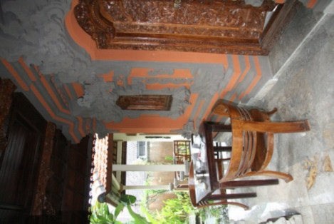 Terasse - Bubu homestay, Amed, Karangasem, Bali
