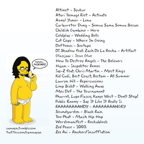 pasembur 2010 tracklist