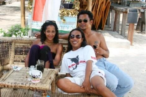 Détente au Sama Sama Bungalows - Gili Trawangan, Lombok