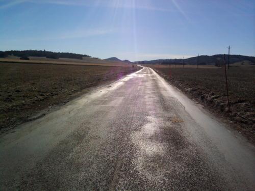 Route entre Leoncel et les limouches