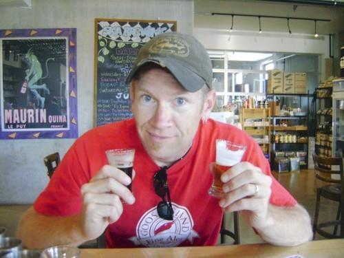 man drinks beer for lent