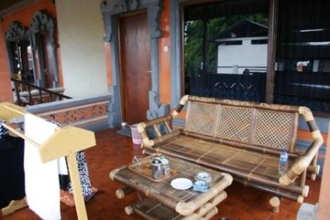 Au Lima Satu Cottages, les balcons sont vraiment sympas !