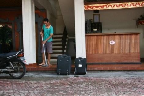 Le ménage est fait tous les jours au Lima Satu Cottages
