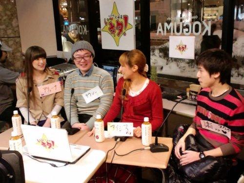 左からアリョーナ(ロシア)、テウン(韓国)、アイシス(カナダ)、ラク(マカオ)