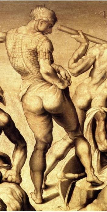 NOT Pants Michelangelo Michelangelo Battle Of Cascina