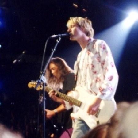 Nirvana around 1992, Kurt Cobain and Krist Novoselic