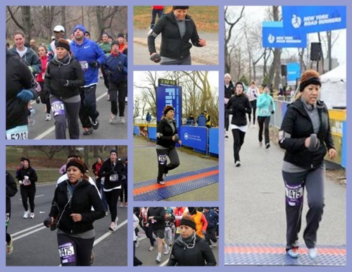 1st 15k race with NYRR