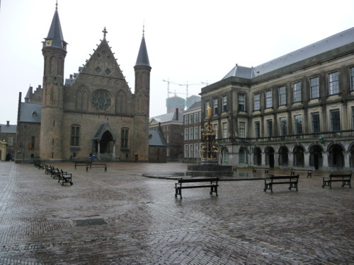 Het Binnenhof - Where parliament meets and the Kings of Holland were crowned.