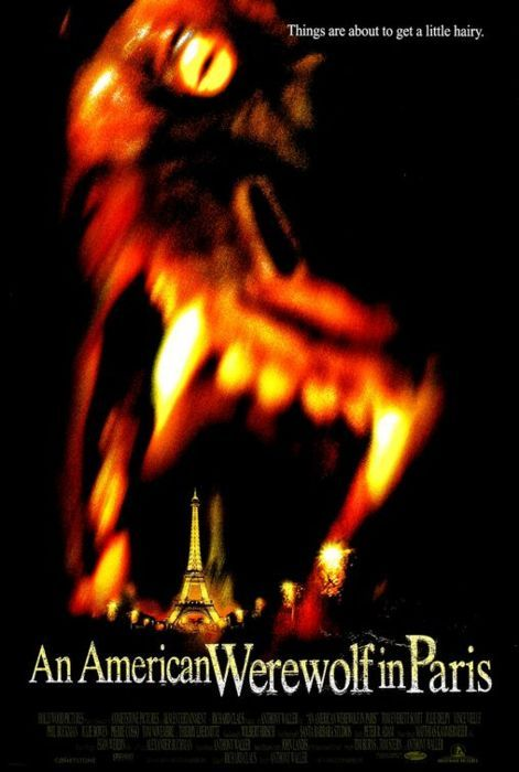 American Werewolf in Paris Poster (1997)