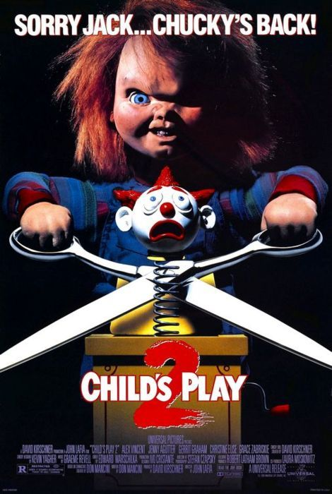Child's Play 2 (1990) poster