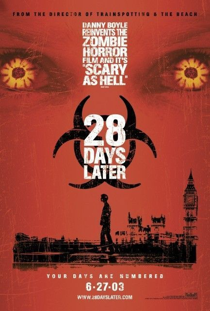 28 weeks later (2007) poster