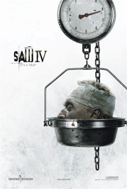 Saw 4 (2007) poster
