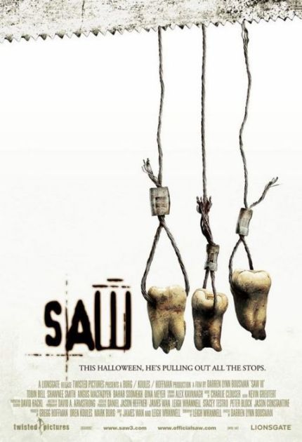 Saw 3 (2006) poster