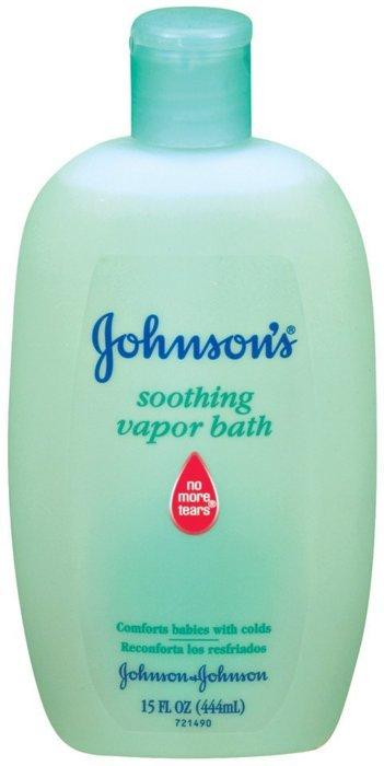 Johnson's Soothing Vapor Bath