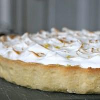 Citrontærte med marengs - surt, sødt og skidegodt