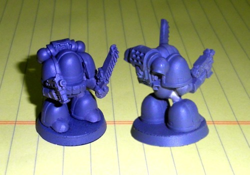Chibi Space Marines