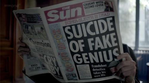 Suicide of Fake Genius
