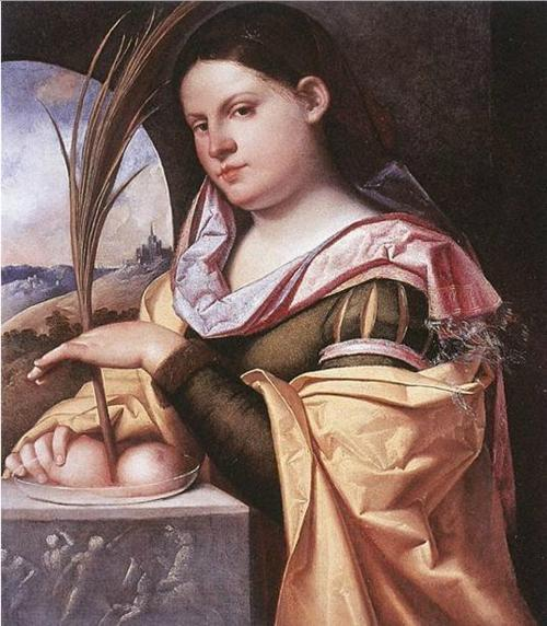 Image result for saint agatha painting