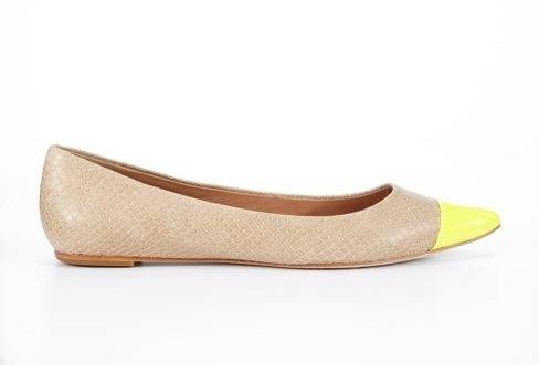 Neon Accent shoes