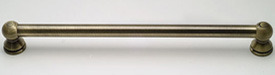 How about a great antique brass grab bar?