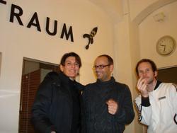 Solly, Karsten und ich